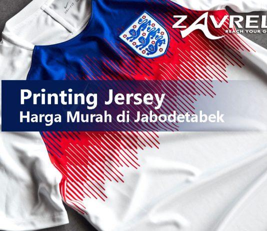 Printing Jersey Harga Murah di Jabodetabek